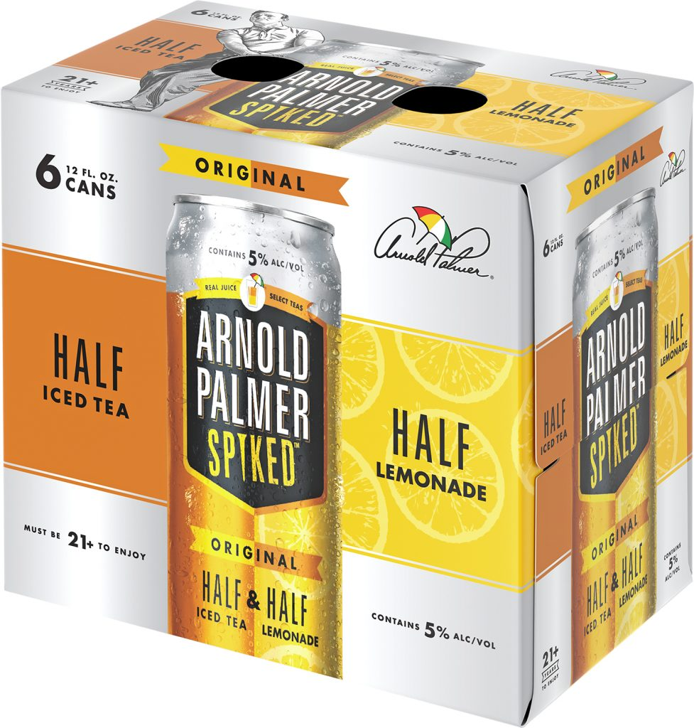 Arnold Palmer Spiked 12oz can 6 pack