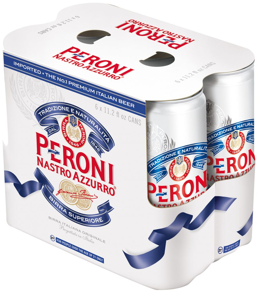 Peroni 6 Pack Cans