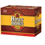 honey brown lager 30pk cans